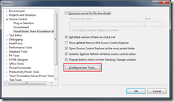 Configure User Tools Button