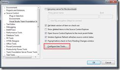 Configure User Tools Button