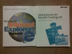 Manuals for IE3 and FrontPage 98!