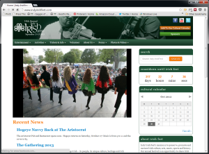 Indy Irish Fest's New Home Page